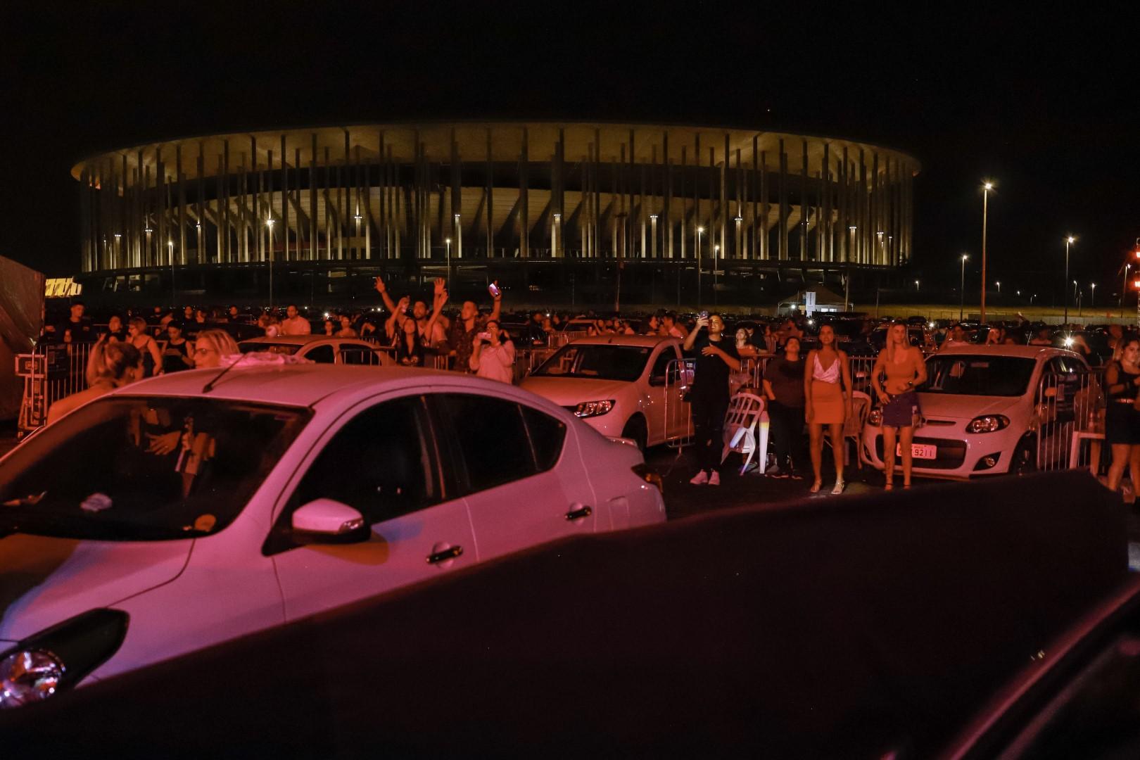 Circuito Cine Drive-in passa por Samambaia