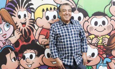 Mauricio de Sousa completa 85 anos