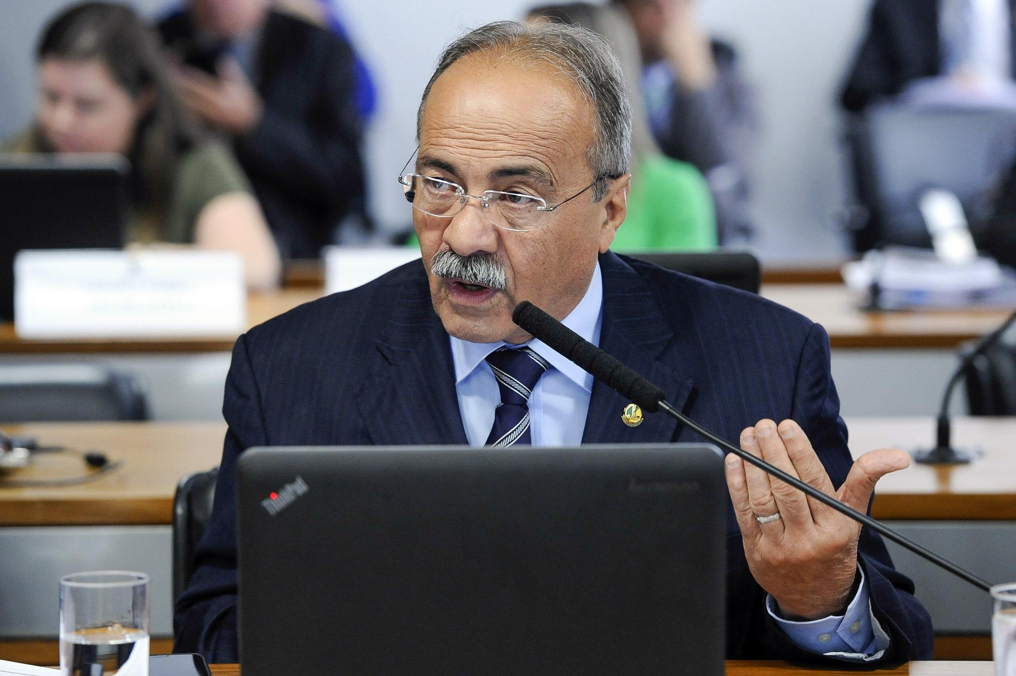 Senador Chico Rodrigues em audiência Pública no Senado