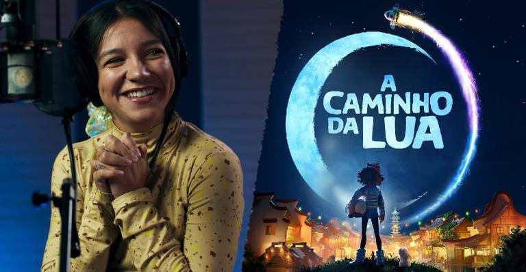 Priscilla Alcântara dá voz à 'Vou Voar', trilha sonora de A Caminho da Lua, da Nertflix