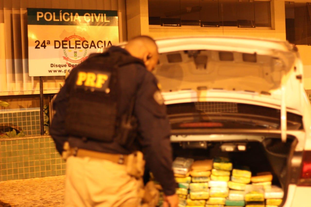 100kg de cocaína apreendidos de caminhão