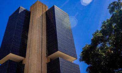 Fachada Banco Central: mercado financeiro e inflação