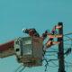 Privatização da CEB Distribuição deve afetar moradores da região. Na foto: reparação de um poste.