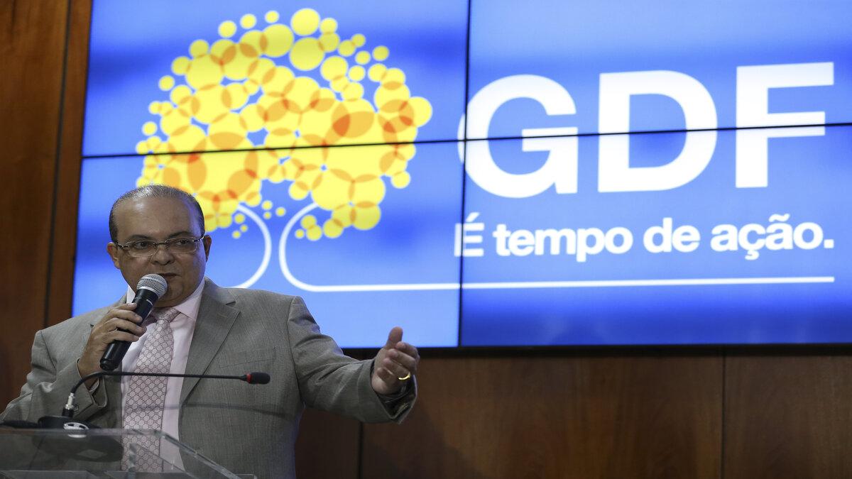 Governador do DF Ibaneis Rocha
