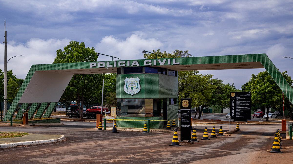 Fachada da Polícia Civil: SSP/DF paga recompensa por informações sobre suspeitos