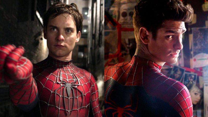 Homem-Aranha 3 Tobey e Andrew
