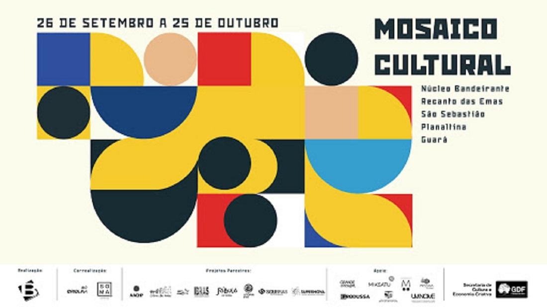 Festival Mosaio encerra com evento online neste sábado (24)
