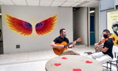 Hospital Regional do Guará aposta em musicoterapia