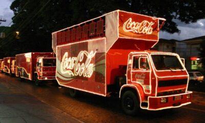 Caravana Coca-Cola passa pelo DF