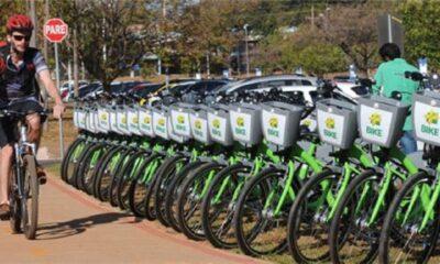 DF vai ganhar sistema de bicicletas e patinetes compartilhados