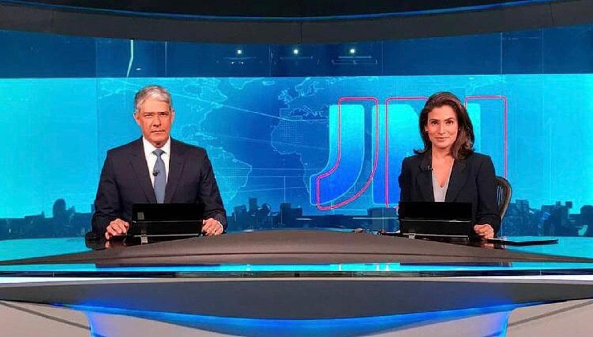 Bolsonaro rebate após imitação de William Bonner